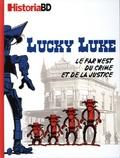 Eric Pincas et Victor Battagion - Historia BD  : Lucky Luke - Le Far West du crime et de la justice.