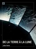 Jules Verne - De la Terre à la Lune - Roman d'anticipation.