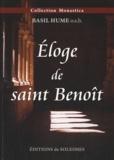 Basil Hume - Eloge de saint Benoît.