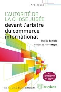 Accentsonline.fr L'autorité de la chose jugée devant l'arbitre du commerce international Image