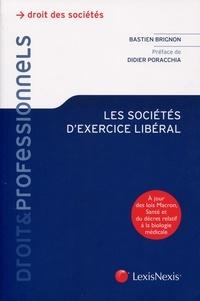 Bastien Brignon - Les sociétés d'exercices libéral.