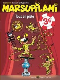 Batem et Vincent Dugomier - Marsupilami Tome 16 : Tous en piste.