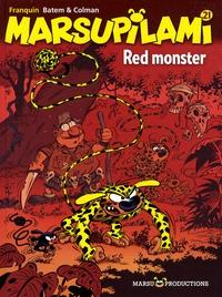 Batem et  Colman - Marsupilami Tome 21 : Red monster.