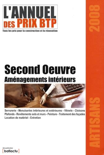 Batiactu Groupe - L'annuel des prix BTP - Second Oeuvre Aménagements intérieurs.