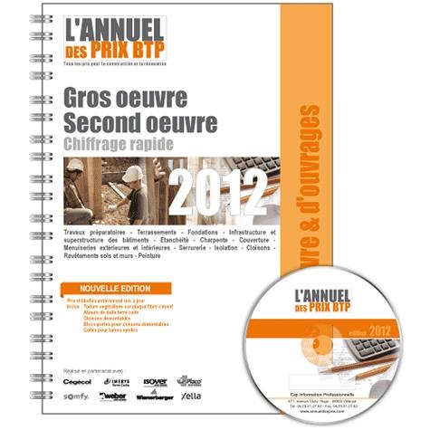 Batiactu Groupe - L'annuel des prix BTP - Gros oeuvre, Second oeuvre.