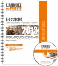 Histoiresdenlire.be L'Annuel des prix BTP - Electricité-courants forts, courants faibles Image