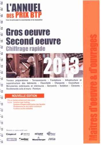 Batiactu Groupe - L'annuel des prix BTP - Gros oeuvre - second oeuvre, chiffrage rapide.