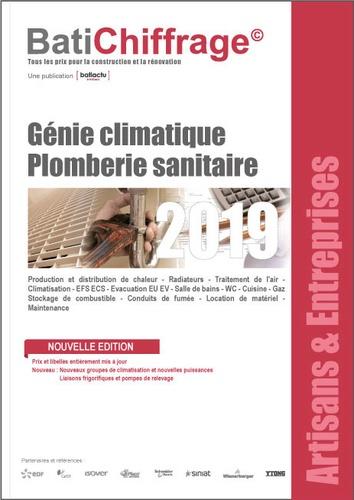 BatiChiffrage et  Batiactu Groupe - Génie climatique - Plomberie sanitaire.