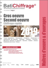 BatiChiffrage et  Batiactu Groupe - Gros oeuvre - Second oeuvre.
