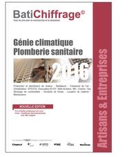 BatiChiffrage et  Batiactu Groupe - L'annuel des prix BTP - Artisans et entreprises - génie climatique plomberie sanitaire.