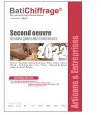 BatiChiffrage - Second oeuvre - Aménagements intérieurs.