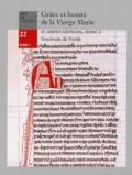Baudouin de Forde - Grâce et Beauté de la Vierge Marie et autres sermons - Tome 2.