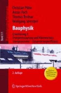 Baukonstruktionen / Bauphysik - Erweiterung 1: Energieeinsparung und Wärmeschutz. Energieausweis - Gesamtenergieeffizienz.