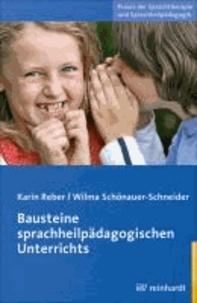 Bausteine Sprachheilpädagogischen Unterrichts.