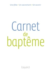 Bayard - Carnet de baptême.