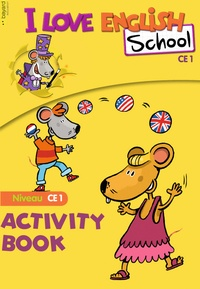 Bayard - I Love English School CE1 - Activity Book.