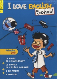 Bayard - I Love English School CE2 - Le kit enseignant. 2 CD audio