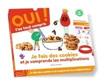 Bayard - Je fais des cookies et je comprends les multiplications - Contient : 1 livre d'activités, 1 carte explicative, 2 damiers Montessori, 2 emporte-pièces, 1 feutre effacable, 1 fiche recette, 1 cuillère, 1 tablier.