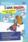 Odile Amblard - Mallette pédagogique I love English School Cycle 1 Cycle 2 Sing, Move, Play - 5 minutes d'anglais par jour.