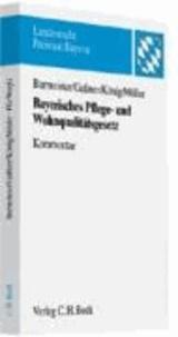 Bayerisches Pflege- und Wohnqualitätsgesetz - Rechtsstand: voraussichtlich 1. Januar 2009.