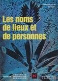 Baylon et Jean-Henri Fabre - Les Noms de lieux et de personnes.