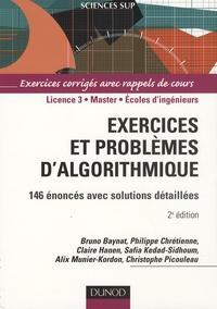 Baynat et Philippe Chrétienne - Exercices et problèmes d'algorithmique - 146 énoncés avec solutions détaillées.