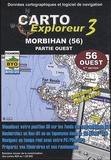 Bayo - Carto exploreur 3 Morbihan (56) Partie ouest - DVD.