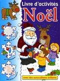 Baz Rowell - Livre d'activités Noël.