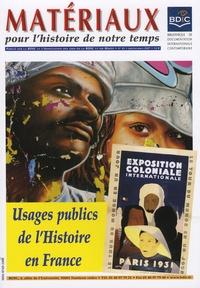 Robert Frank - Matériaux pour l'histoire de notre temps N° 85, Janvier-Mars : Usages publics de l'Histoire en France.