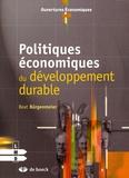 Beat Bürgenmeier - Politiques économiques du développement durable.