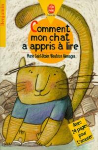 Beatrice Alemagna et Marie Saint-Dizier - Comment mon chat a appris à lire.