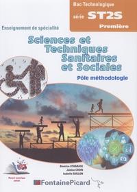 Ebooks téléchargements pdf ST2S 1re pôle méthodologie  - Enseignement de spécialité en francais PDB MOBI ePub par Béatrice Athanase, Justine Choin, Isabelle Guillon