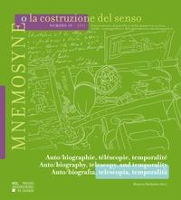Beatrice Barbalato - Mnemosyne o la costruzione del senso n° 10 – 2017 - Auto/biographie, téléscopie, temporalité.