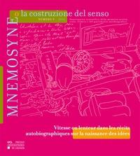 Beatrice Barbalato - Mnemosyne o la costruzione del senso n° 9 – 2016.