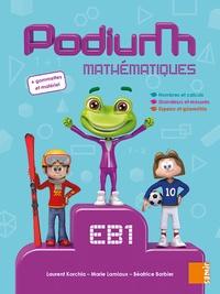 Béatrice Barbier et Marie Lamiaux - Podium Mathématiques EB1.