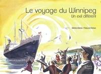 Téléchargement de livres audio sur BlackBerry Le voyage du Winnipeg  - Un exil différent - El barco de la esperanza  par Béatrice Barnes, Madeleine Tirtiaux (French Edition) 9782490906062