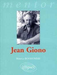 Béatrice Bonhomme - Giono.
