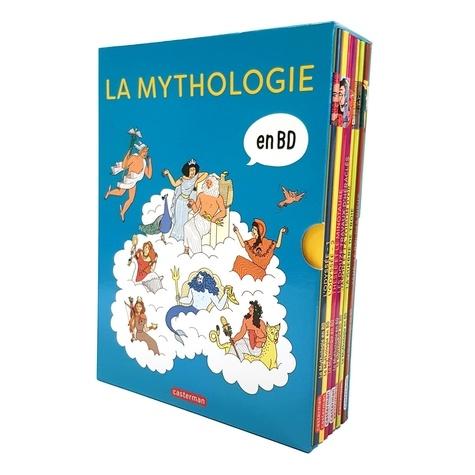 La mythologie en BD  Coffret en 8 volumes : L'Odyssée 1 et 2 ; Thésée et le Minotaure ; Les douze travaux d'Héraclès ; Jason et la toison d'or ; La guerre de Troie ; Zeus, le roi des dieux ; Prométhée