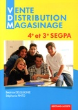 Béatrice Delquignie et Stéphanie Pinto - Vente Distribution Magasinage 4e et 3e SEGPA.