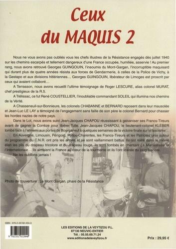 Ceux du maquis. Volume 2