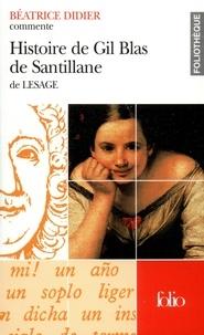 Béatrice Didier - Histoire de Gil Blas de Santillane de Lesage.