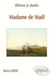 Béatrice Didier - Madame de Staël.