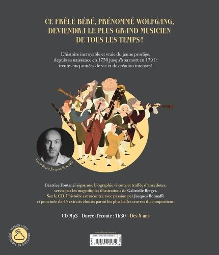 Wolfgang Amadeus Mozart  avec 1 CD audio