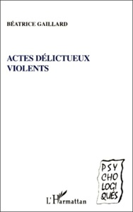 Histoiresdenlire.be Actes délictueux violents Image