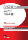 Béatrice Grandguillot et Francis Grandguillot - Analyse financière 2014-2015 - 40 exercices corrigés.