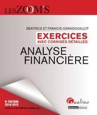 Analyse financière 2014-2015 - Exercices avec corrigés détaillés.pdf