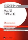 Béatrice Grandguillot et Francis Grandguillot - Analyse financière - 43 exercices corrigés.