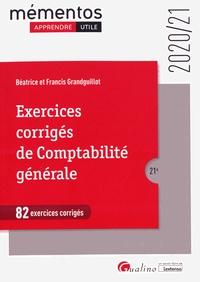 Béatrice Grandguillot et Francis Grandguillot - Exercices corrigés de comptabilité générale.