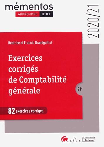 Exercices corrigés de comptabilité générale  Edition 2020-2021