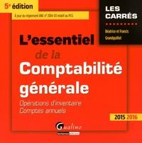 Deedr.fr L'essentiel de la comptabilité générale 2015-2016 - Opérations d'inventaire, comptes annuels Image